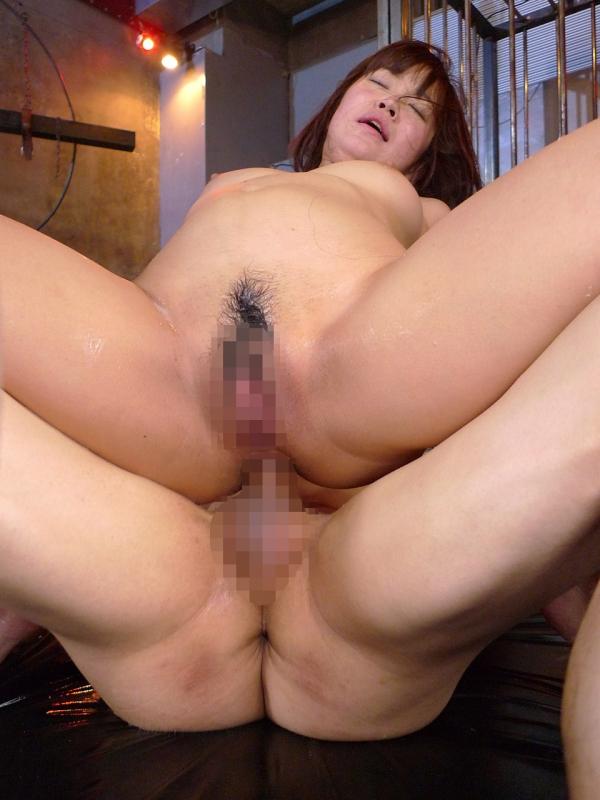 熟女の肛門性交画像-46