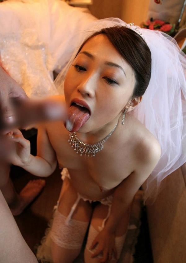 淑女への口内射精画像-70