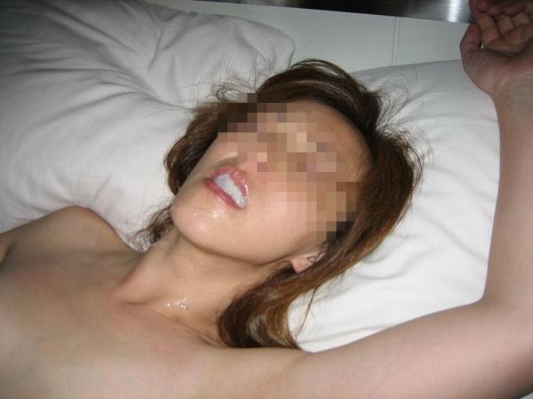 淑女への口内射精画像-87
