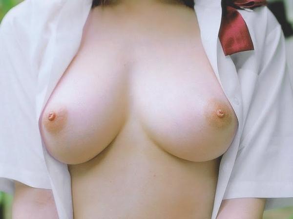 巨乳な人妻の生乳画像-41