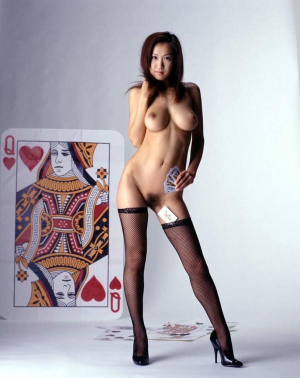 巨乳な人妻の生乳画像-60