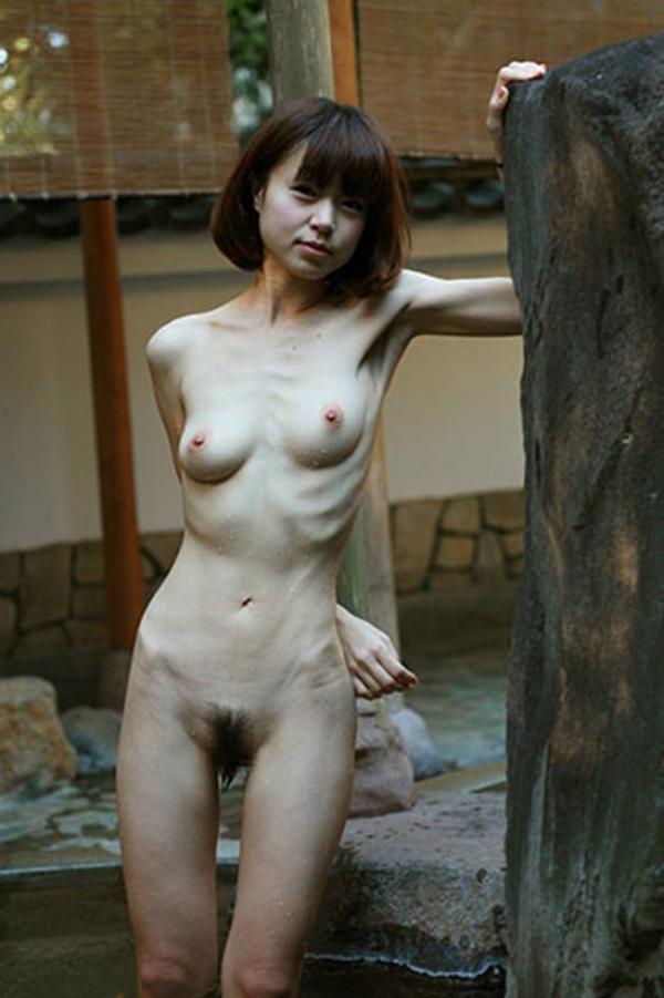 拒食症のヌード画像-39