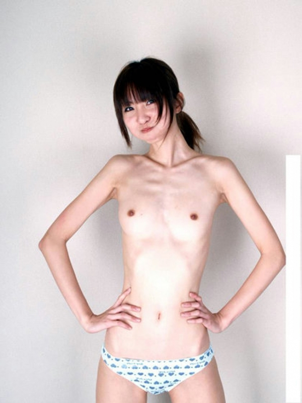 拒食症のヌード画像-52