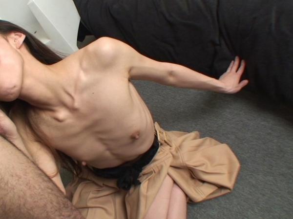 拒食症のヌード画像-56