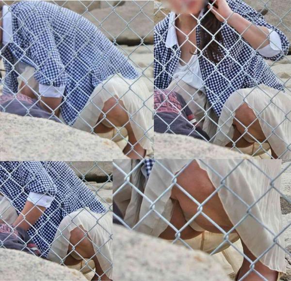 子連れママのパンチラ画像-20