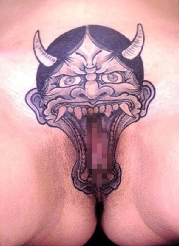 マンコのタトゥー画像-1