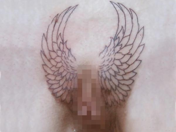 マンコのタトゥー画像-23