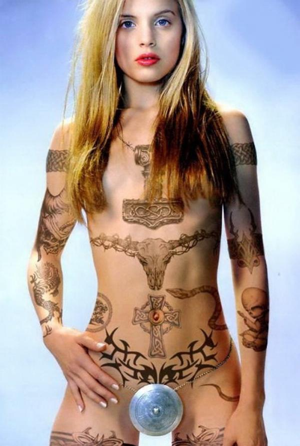 マンコのタトゥー画像-48