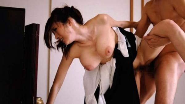 未亡人のセックス画像-46