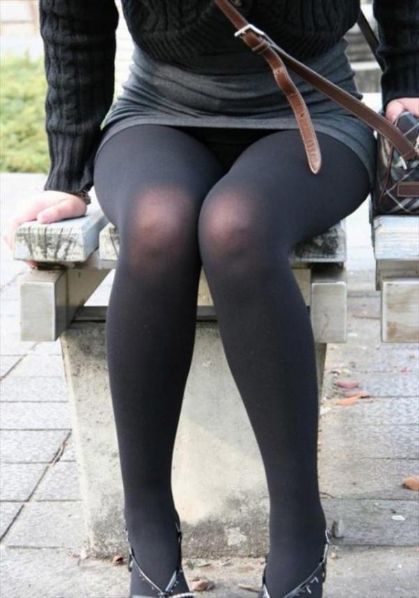 OL太腿のエロ画像-3