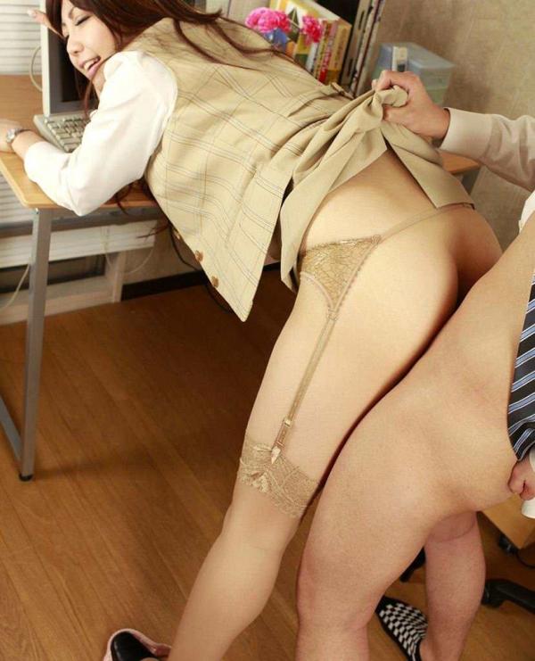 OLの着衣セックス画像-28