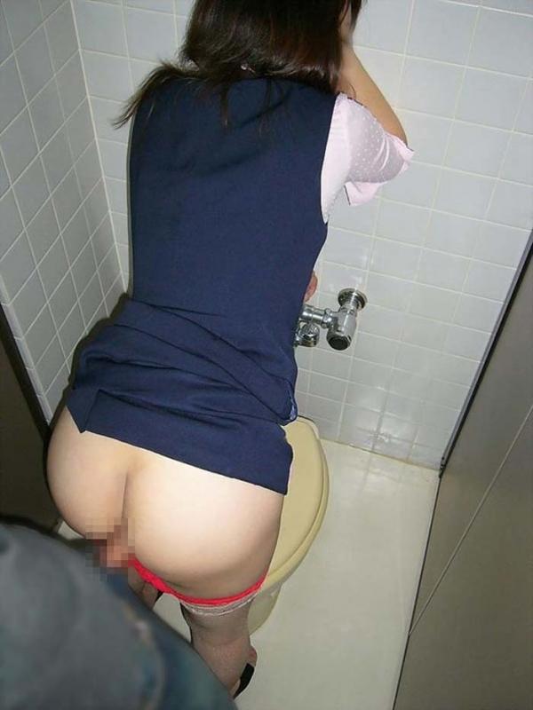 OLの着衣セックス画像-49