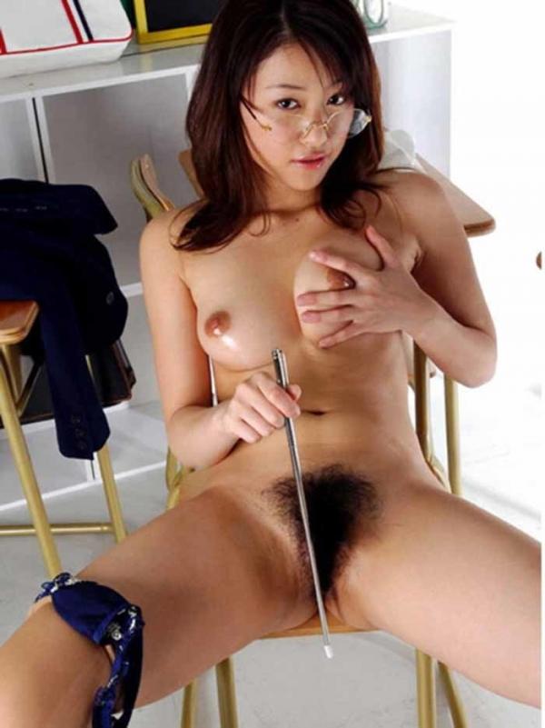 女教師の裸ヌード画像-26