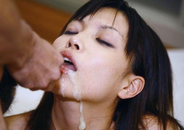 舌上射精のエロ画像-34