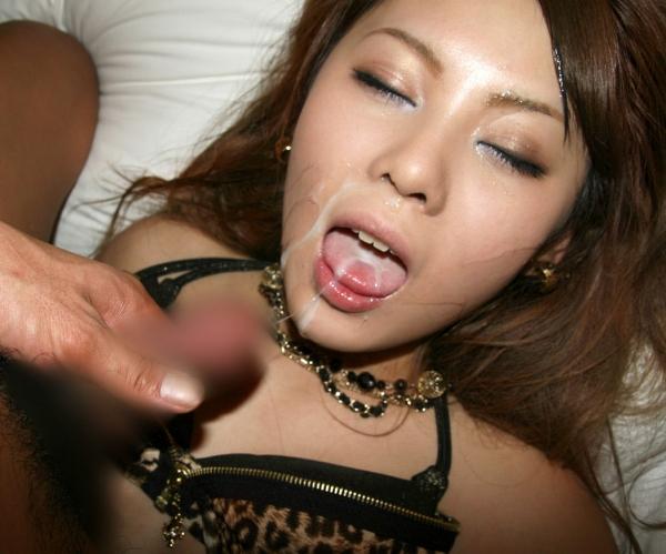 舌上射精のエロ画像-37