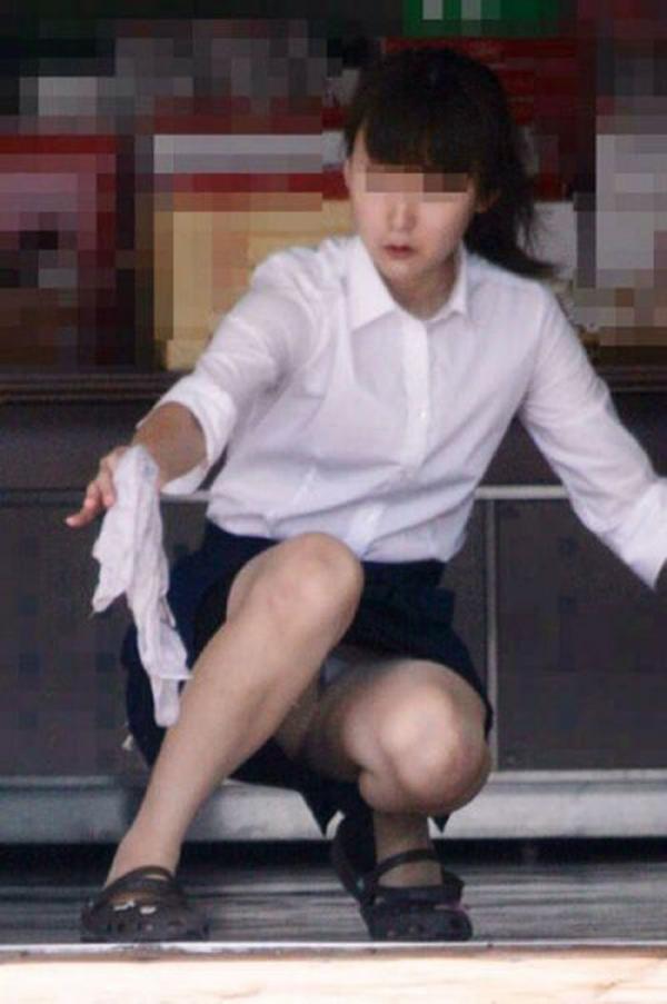 スカートのパンチラ画像-77