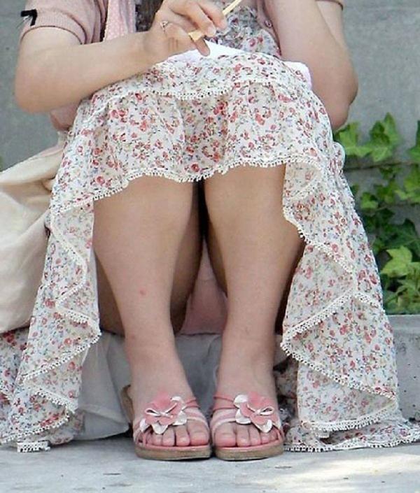 立膝座りのエロ画像-92