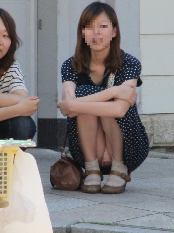 立膝座りのエロ画像-93