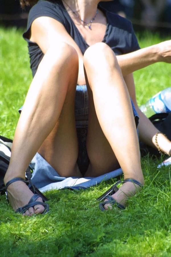 立膝座りのエロ画像-104