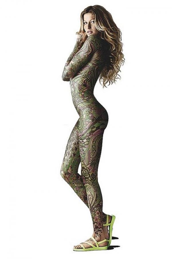 タトゥー入れた女のヌード画像-41