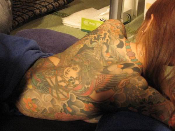 タトゥー入れた女のヌード画像-80