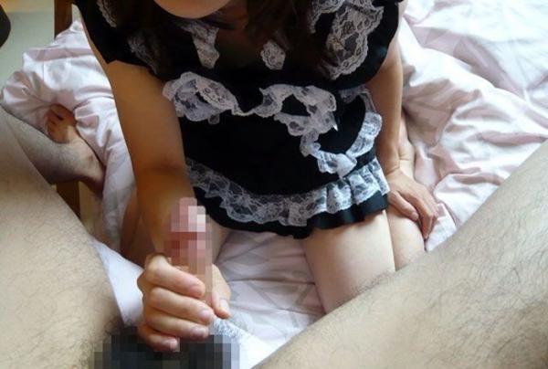 手コキのエロ画像-29