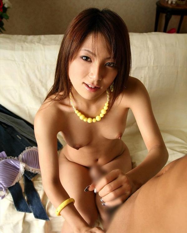 素人写メの手コキ画像-21