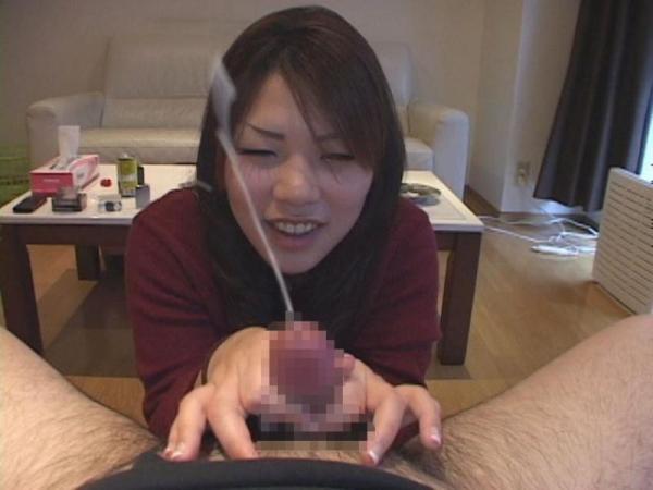 手コキ射精の画像-14
