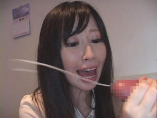 手コキ射精の画像-15
