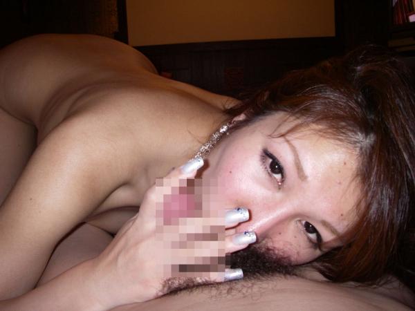 若妻のフェラチオ画像-1