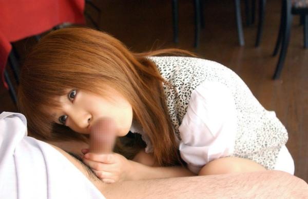 若妻のフェラチオ画像-21