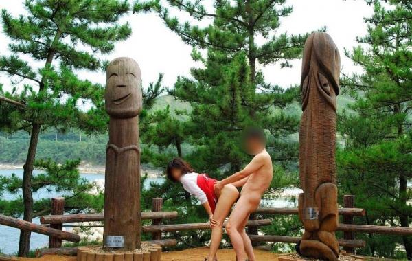野外でのセックス画像-44