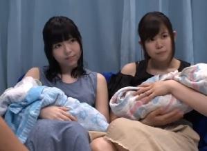 【MM号】優しい子連れ美人ママがングルファザーに素股で赤面ご奉仕