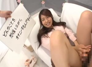 【MM号】インタビュー中にデカチンで即パコされちゃった女子大生