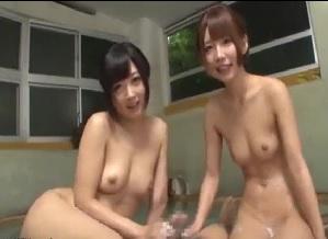 【大槻ひびき 乙葉ななせ】美人女将たちと3Pエッチ