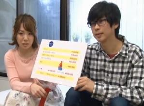 【MM】彼氏の友達の童貞君とHの実技講習。中だし1回ごとに10万円に惹かれて、彼氏が窓の外に居るのに4回も中だしエッチしちゃった彼女