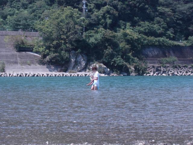 横夏休み01仁淀川