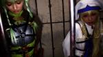 美少女冒険者エルフ&女神官×アナル&マ●コ2穴中出しファック×10連続大量ザーメンぶっかけ2