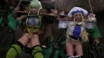 美少女冒険者エルフ&女神官×アナル&マ●コ2穴中出しファック×10連続大量ザーメンぶっかけ3