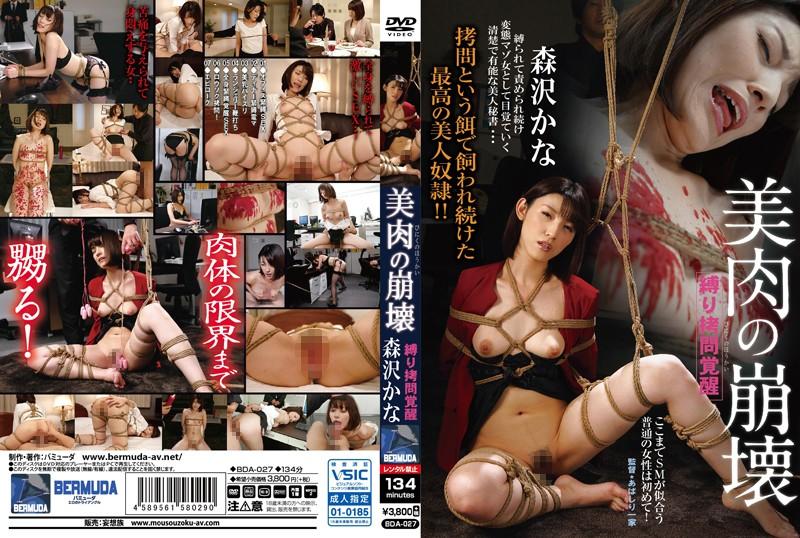 森沢かな(飯岡かなこ) 縛り拷問覚醒 美肉の崩壊