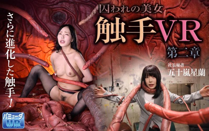 五十嵐星蘭 【VR】触手VR 第二章 囚われの美女 社長秘書