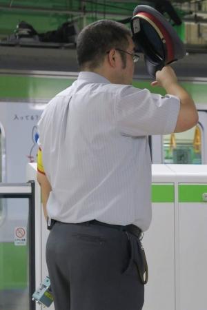電車制服リーマン (2)