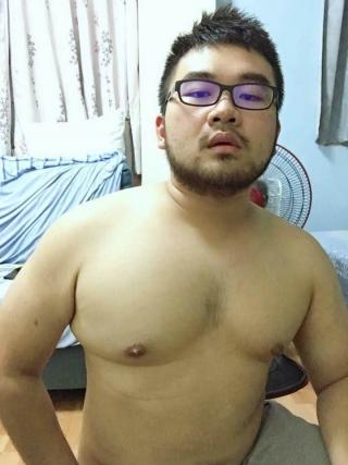 眼鏡ガチデブ男子20190312 (6)