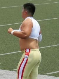 若いアメフト選手 (8)