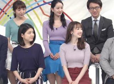 【エンタメ画像】【GIF画像】ZIP!とかいう番組、毎朝女子がお●ぱい揺らしすぎだろ☆☆☆☆☆☆☆☆☆☆