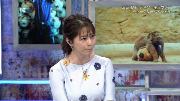【最新画像】NHK 杉浦友紀のお●ぱい、衰え知らず