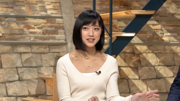 【画像】竹内由恵アナの最新ニットお●ぱいがシコリティ高すぎる