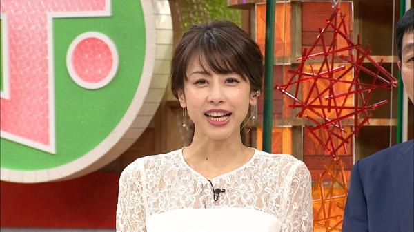 【エンタメ画像】【画像】加藤綾子アナの最新お●ぱいデケええええええええええ【ホンマでっか!?TV】