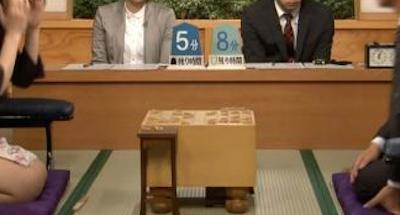 【エンタメ画像】【画像】女流棋士、とんでもない格好で将棋を指してしまう!!これはエ□すぎだろ!!!!!!!!!!