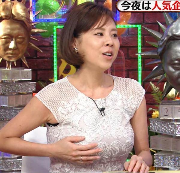 【エンタメ画像】【画像】高橋真麻、BUSトサイズをガチンコ告白!!こんなにデカかったのかよ!!